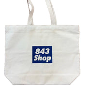 843 Shop Holy City Canvas Tote Bag