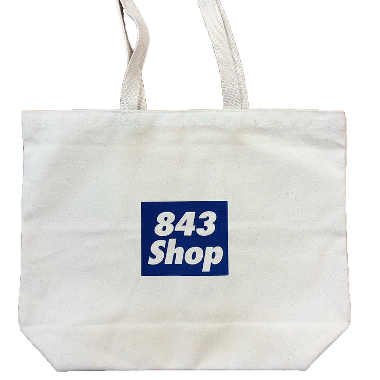 843 Shop Charleston Heart Canvas Bag