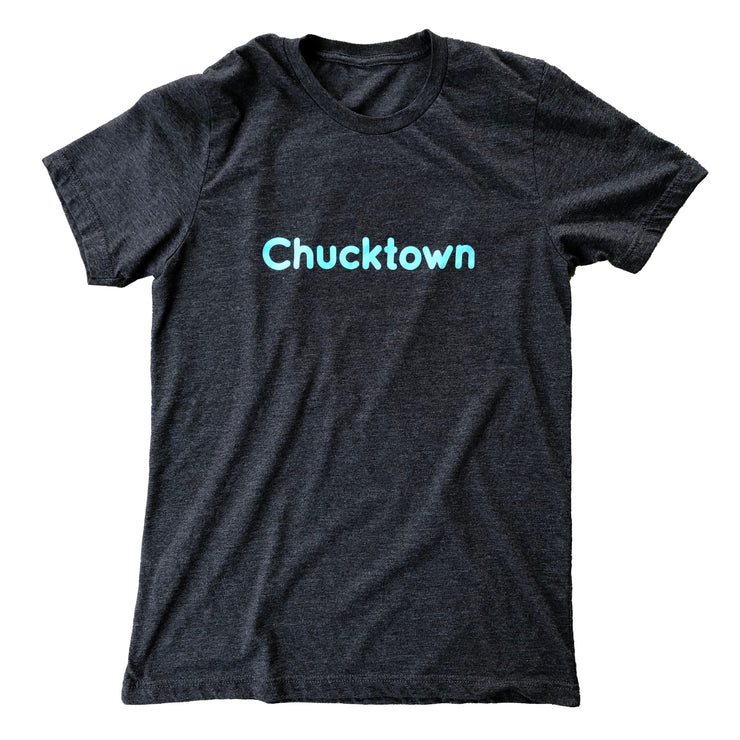 843 Shop Chucktown Tee - Dark Grey Heather (Unisex)