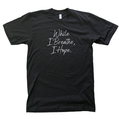 843 Shop While I Breathe, I Hope. Tee - Black (Unisex)