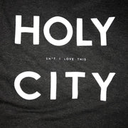 843 Shop Holy City Tee - Black (Unisex)