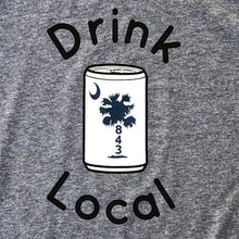 Load image into Gallery viewer, 843 Shop Drink Local Beer Tee - Grey (Unisex)