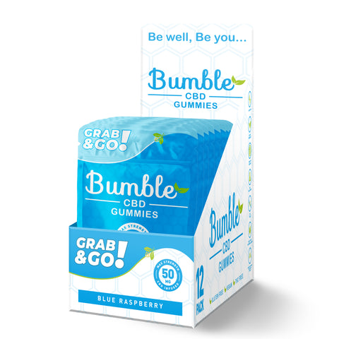 Bumble CBD 100mg Case 12 units  (4pcs in each pack)