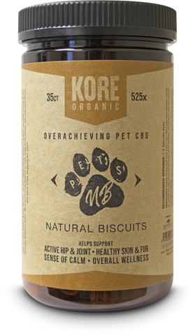 Kore Oganic PET CBD Biscuits 35ct ****