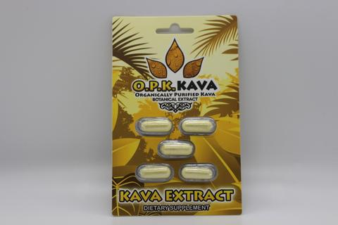 O.P.K. Kava Extract Blister pack Organically Purified (SELECT PIC FOR MORE OPTIONS)