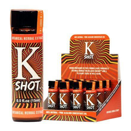 K Shot extract liquid 12 bottles case