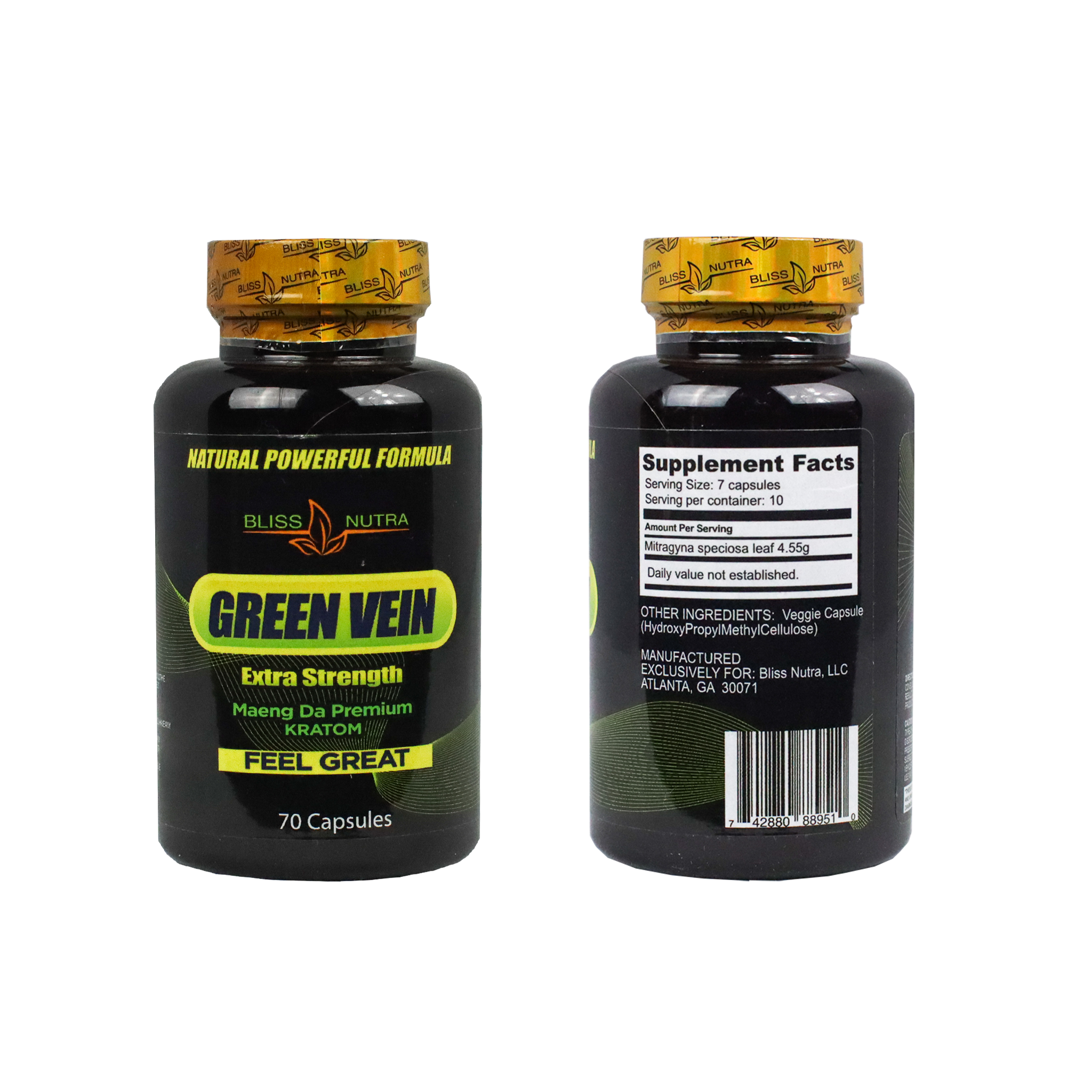 Green Vein Extra Strength Maeng Da Premium