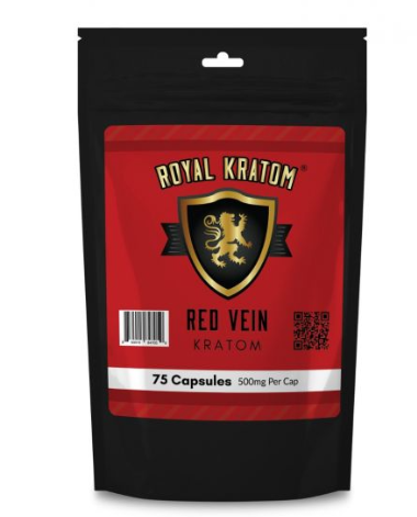 Royal Kratom - 75 CNT Capsules ( New Edition )