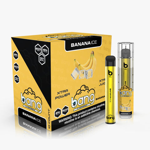 Bang XL Disposable Device- 2ML 6% NIC 10 PCS ( Extra Juice Extra Power )