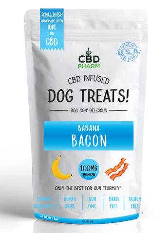 CBD Pharm CBD infused Dog Treats 100mg 20ct (SELECT PIC FOR MORE OPTIONS)****