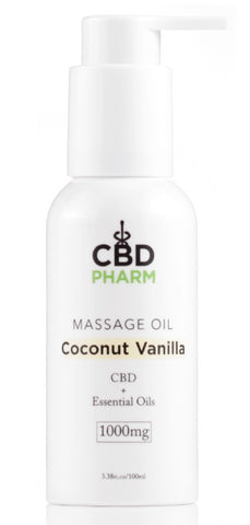 CBD Pharm CBD Massage Oil 1000mg (SELECT PIC FOR MORE OPTIONS)****