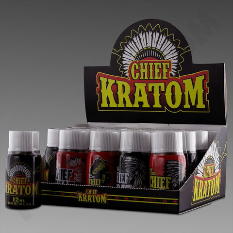 Chief Kratom Extract Shots 12ml bottle(SELECT PIC FOR MORE)