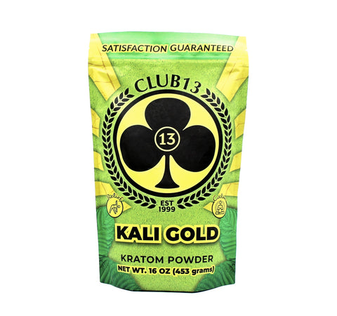 Club 13 - 1 Lb (16oz) Kratom ( 454 Grams per Pouch )