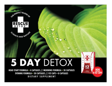 Rescue Detox - 5 Day Detox Rescue Package