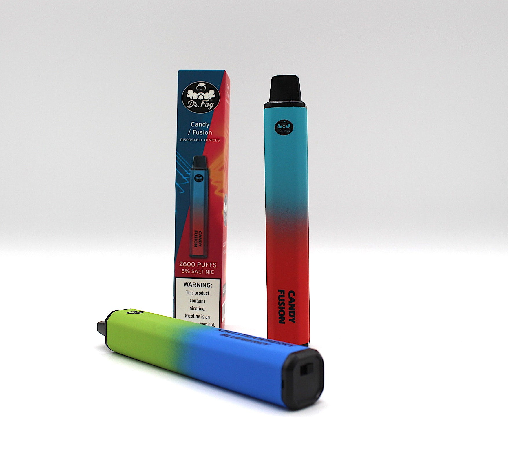Dr Fog SWITCH Disposable 2,600 PUFFS 2-N-1 Flavor