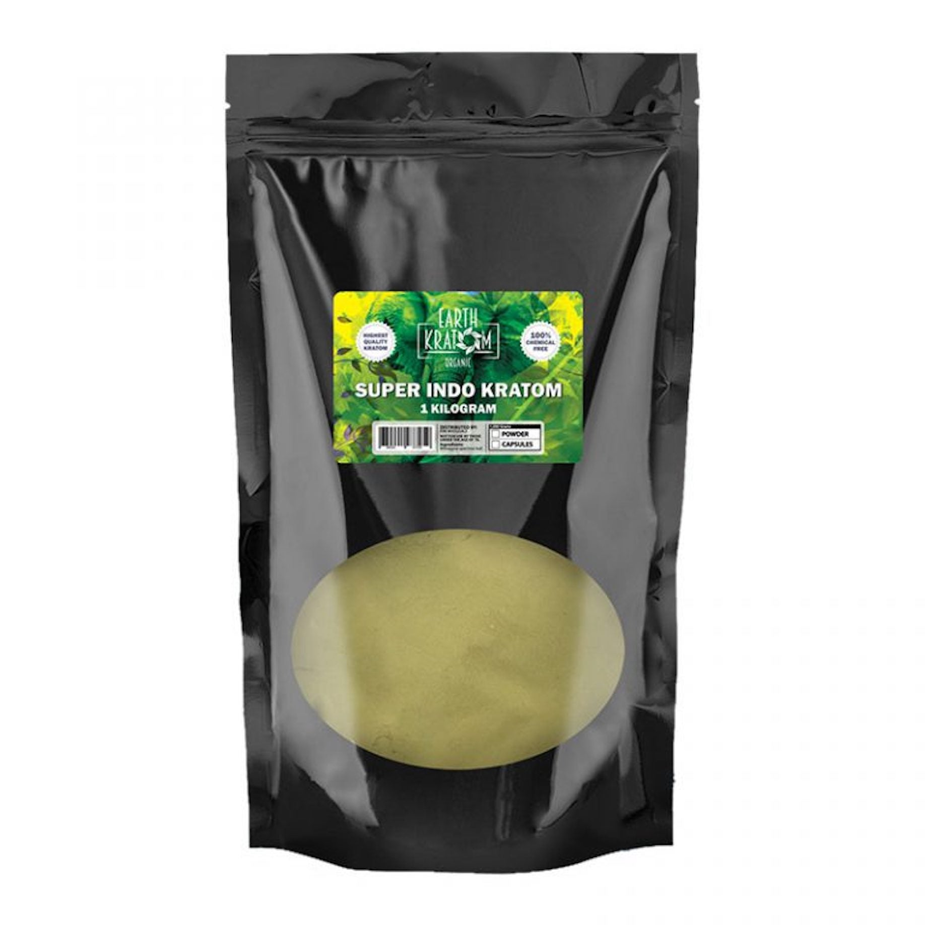 Earth Kratom 1 Kilo Powder