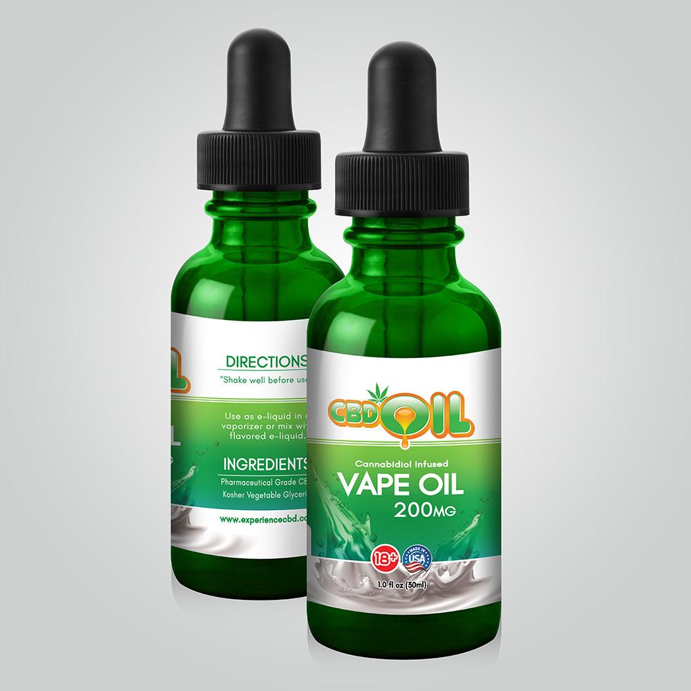 Experience CBD Vape Oil Cannibidol Infused 30ML(SELECT PIC FOR MORE)