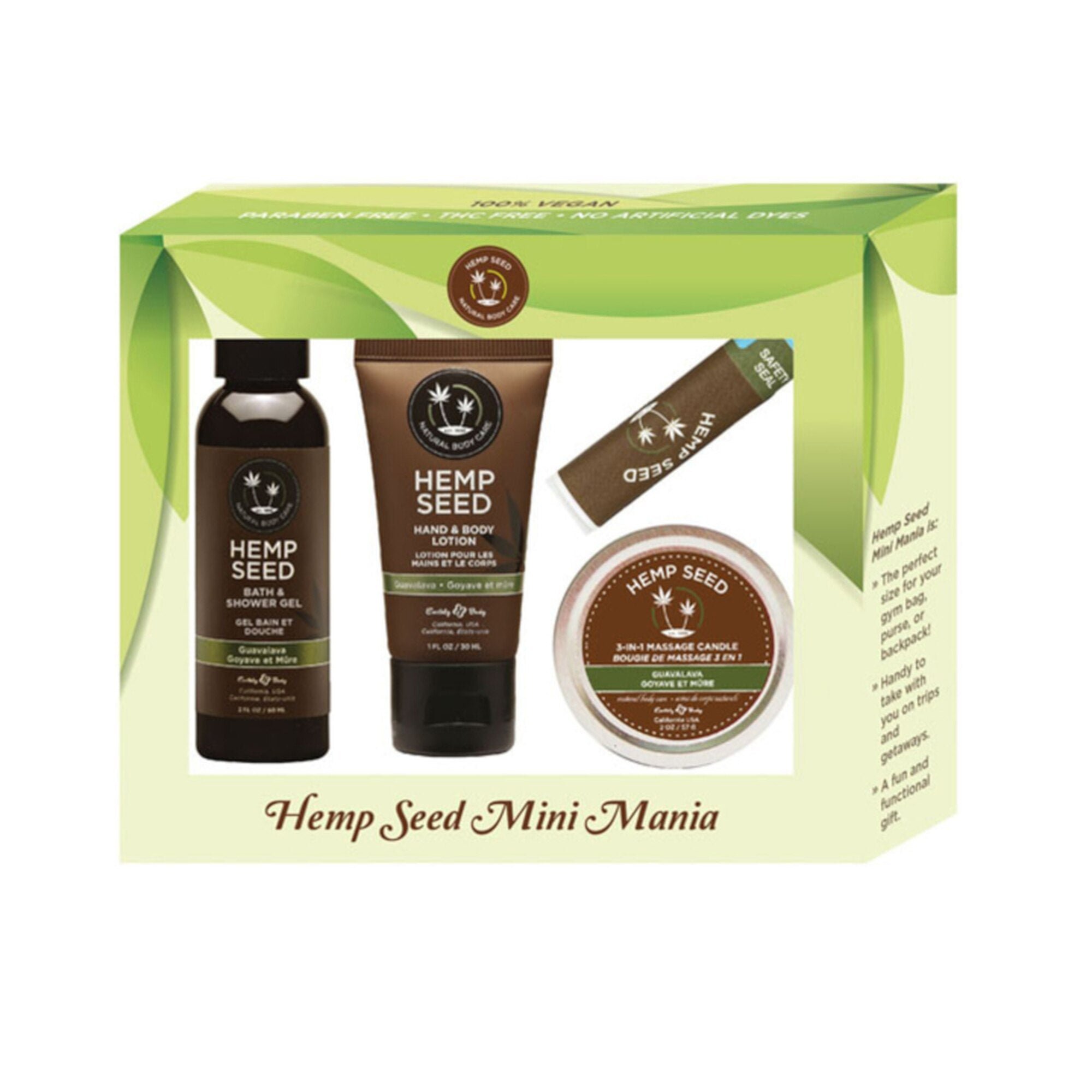 Earthly Body Hemp Seed Gift Sets (SELECT MORE FOR PIC)