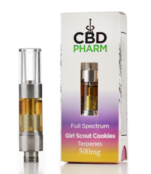 CBD Pharm - Full Spectrum CBD Cartridges ( 500mg / 0.5ML )