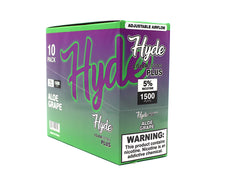 Hyde Color Edition Plus Disposable - Pack of 10 ( 1500 Puffs / 5% NIC )
