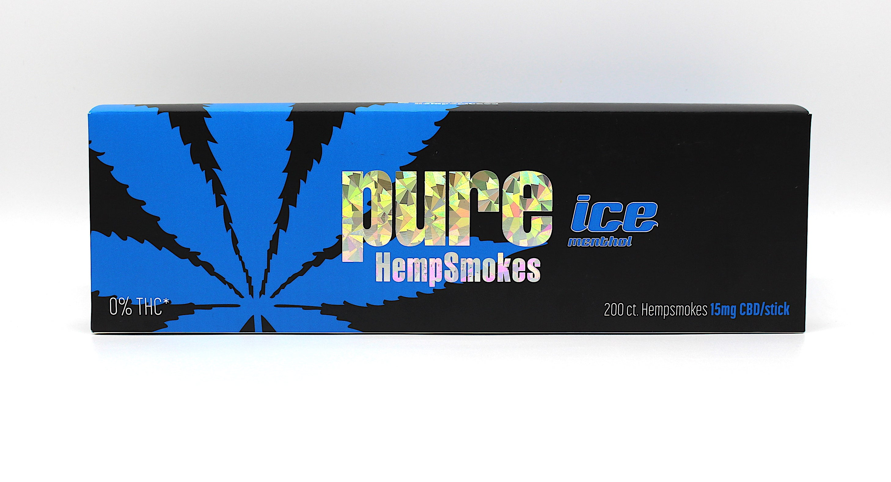Pure Ice Hemp Smokes -Menthol FLavor  ( 20 Hemp Smokes per pack)