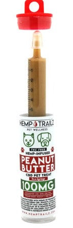 Hemp Trailz Peanut Butter CBD Syringes (SELECT PIC FOR MORE OPTIONS)