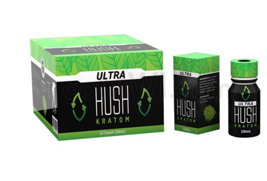 Hush- Ultra Full Spectrum Extract Tincture 10ML- Display of 12