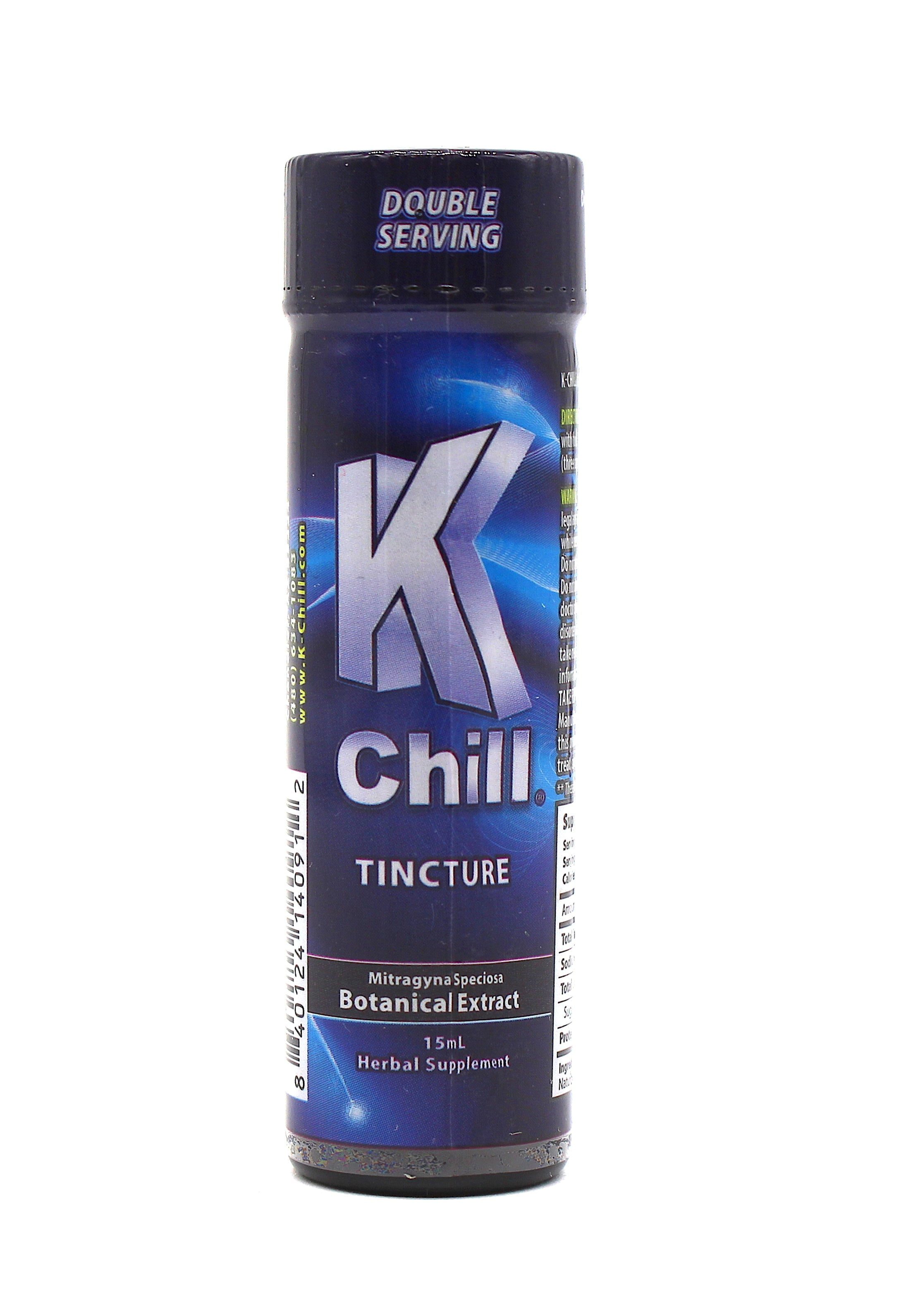 K-CHILL EXTRACT TINCTURE 15ML CASE (12 CT)