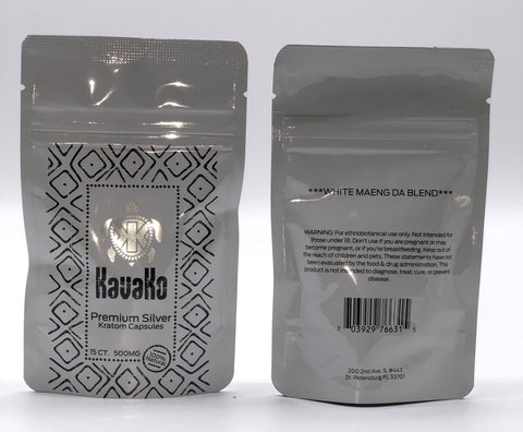 Kavako Premium Botanicals 15Ct Capsules 10pk DISPLAY (SELECT PIC FOR MORE OPTIONS)