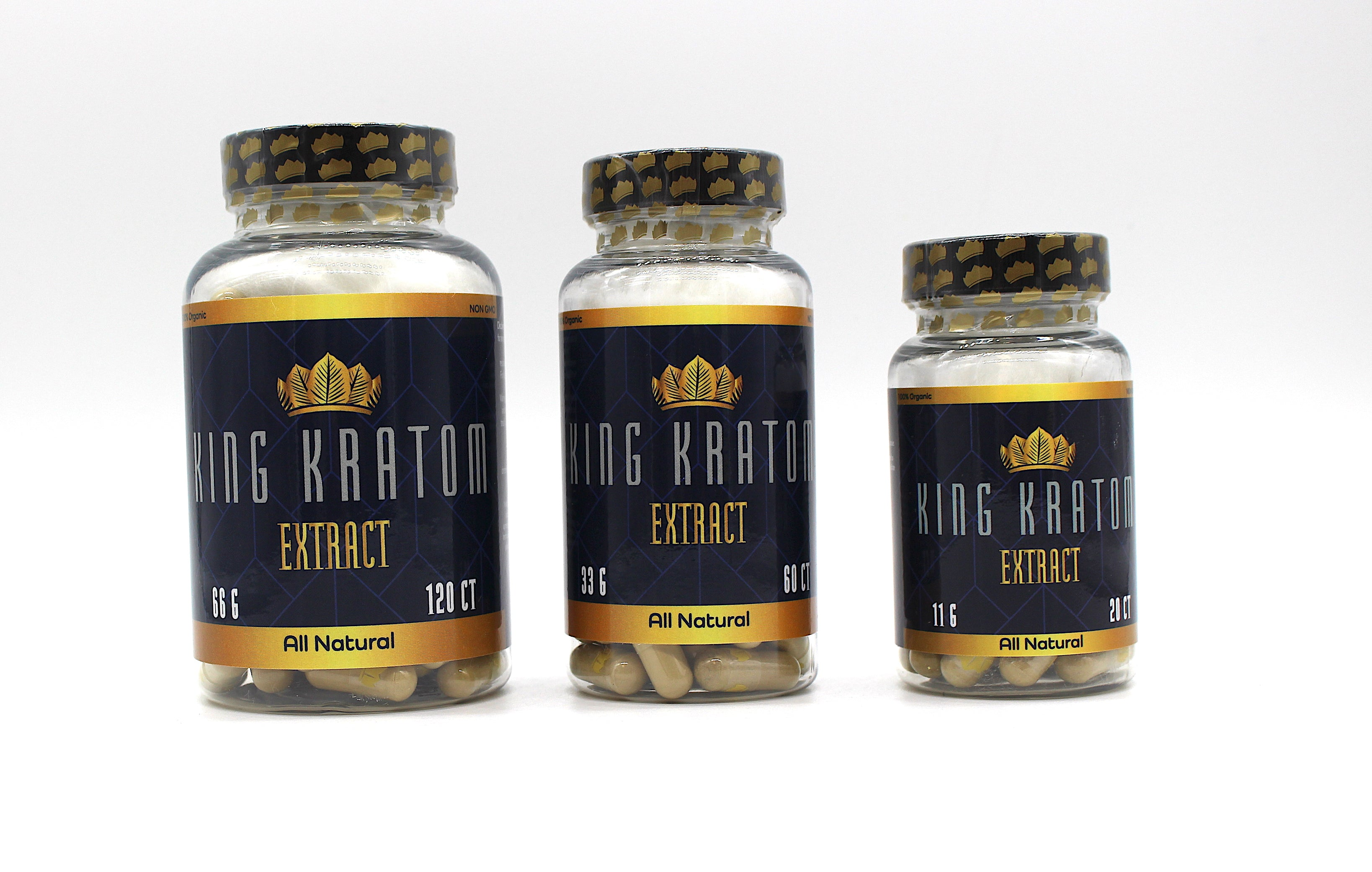 King Kratom EXTRACT capsules All Natural