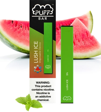 PUFF BAR Disposable (10 per Display 5% Nic )