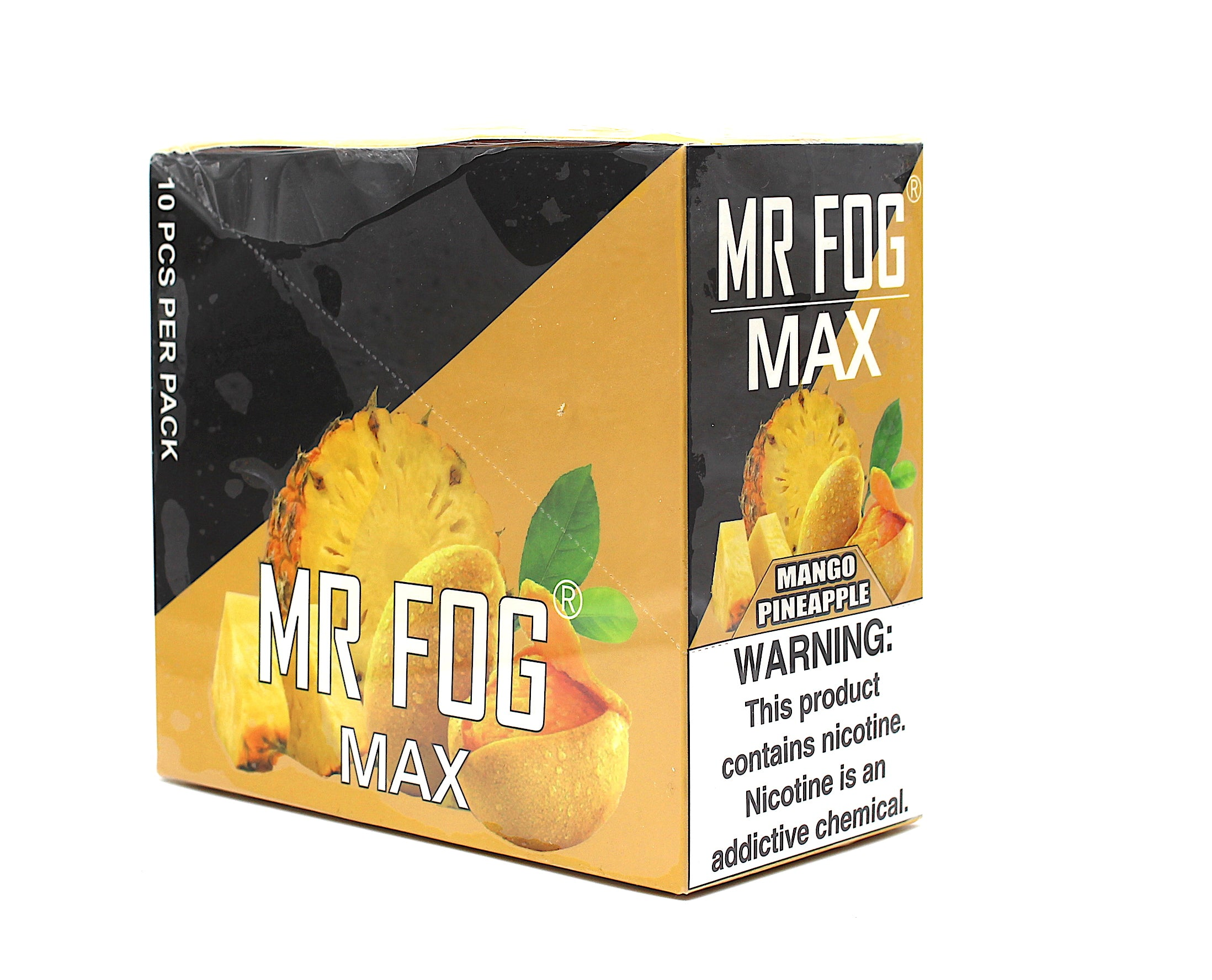 Mr Fog Max-  Contains 3.5 ML 5% NIC 10 PCS