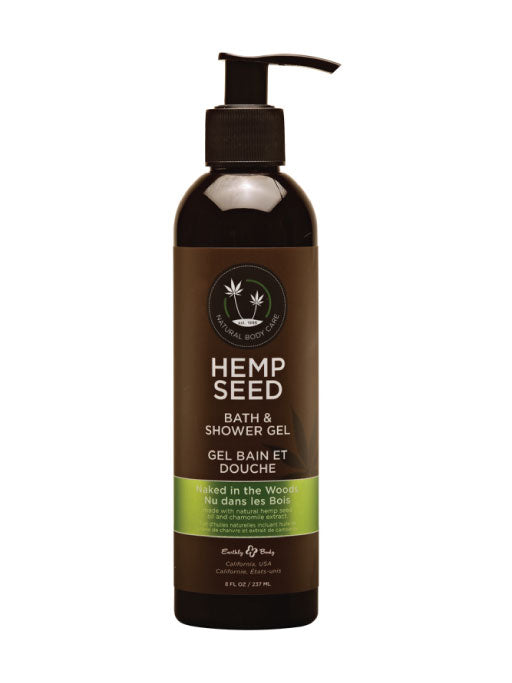 Earhtly Body Hemp Seed Bath & Body Shower Gel 8oz (SELECT PIC FOR MORE)