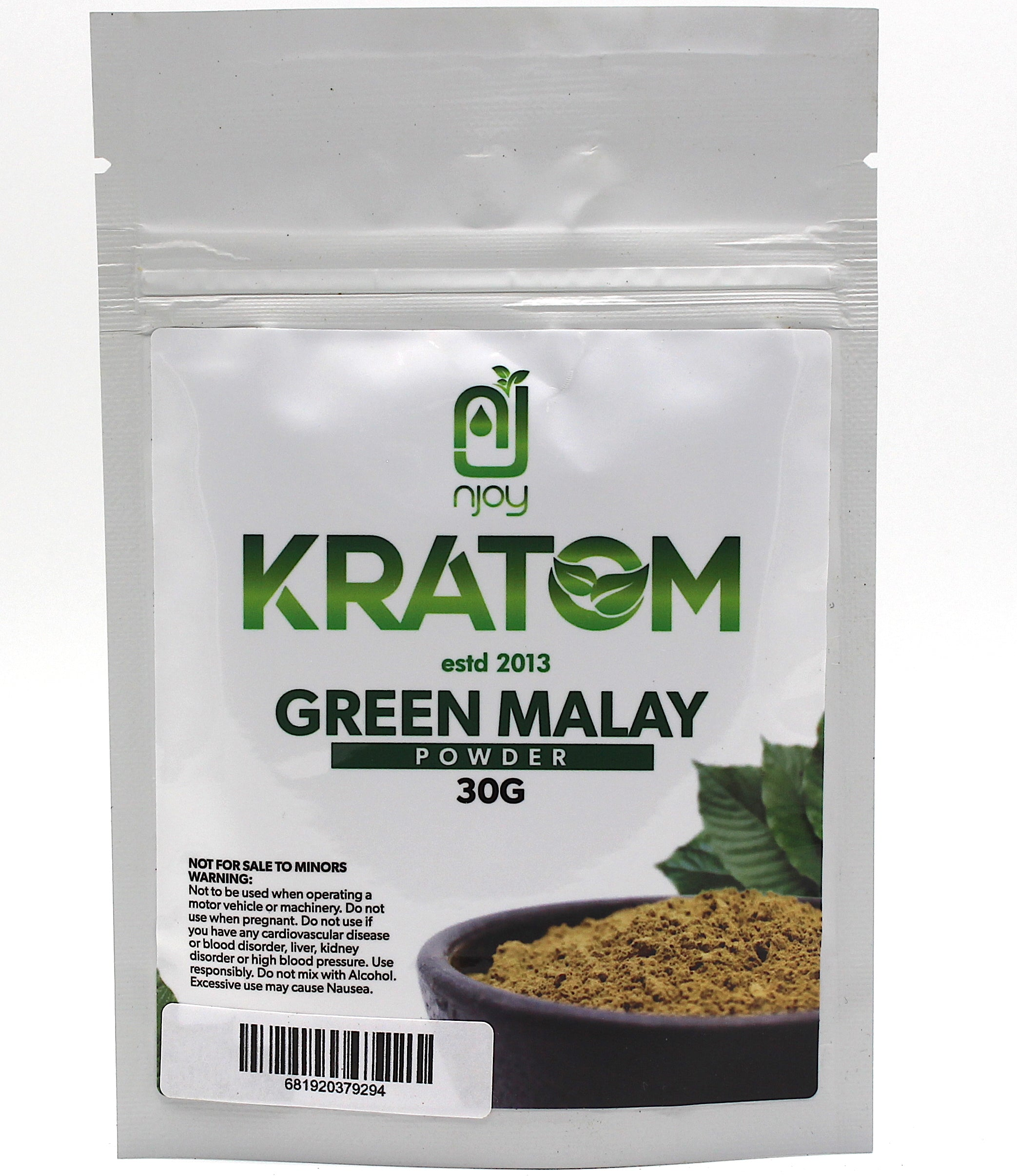 Njoy Kratom  30 grams (SELECT PIC FOR MORE)