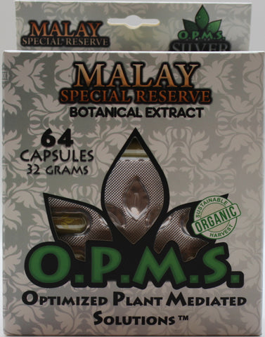 OPMS Box  Silver- 64 capsules (38.4G)
