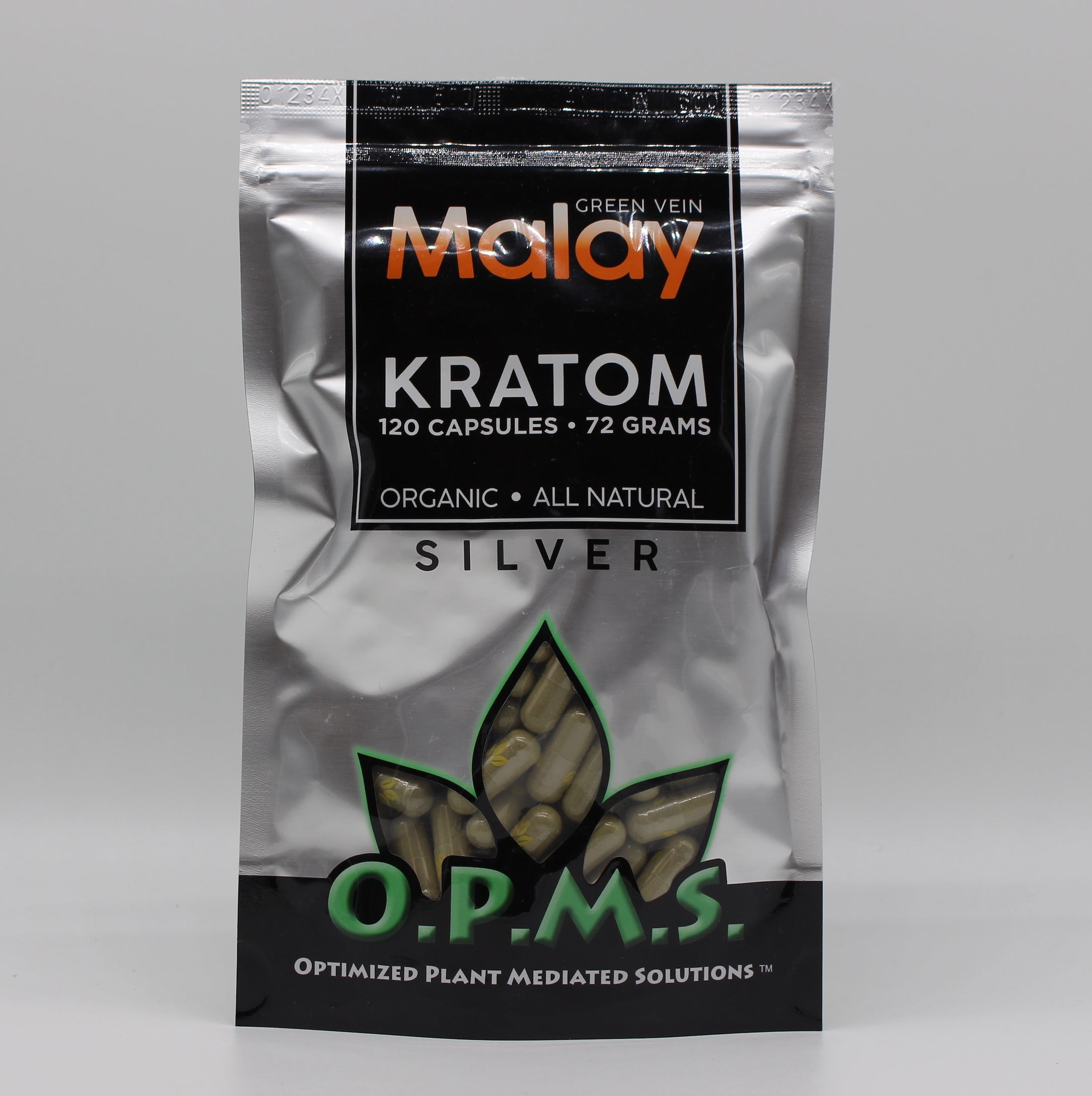OPMS  Silver 72 grams  120CT capsules (SELECT PIC FOR MORE OPTIONS)