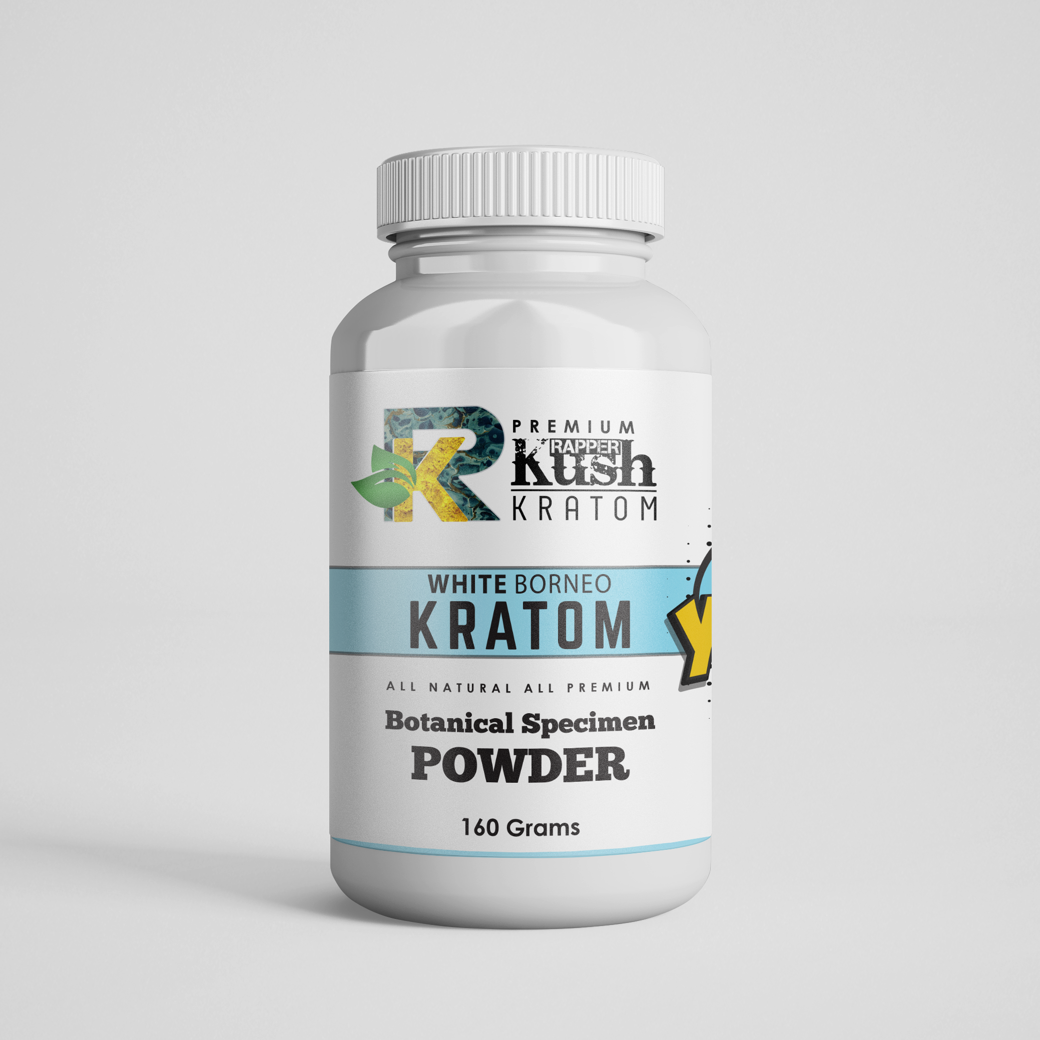 Rapper Kush Kratom - 160 Grams All Natural Kratom Powder