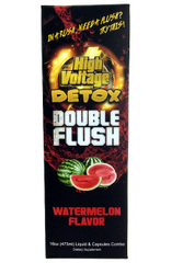 High Voltage Double Flush- Contains 6 extra capsules in package
