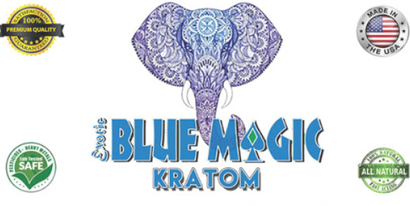 Blue Magic Kratom 2x 60 capsules ( Extract )