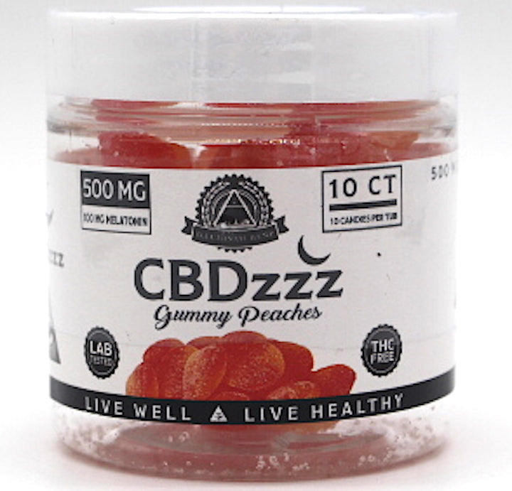 Illuminati  CBD zzz Gummies  500mg (10ct )