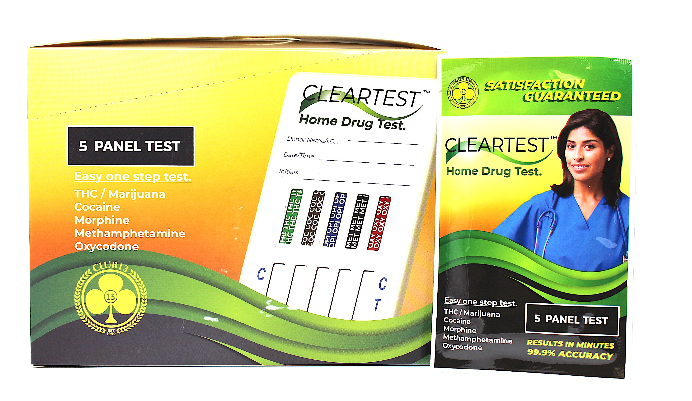 Club13 Drug Test Strips (SELECT PIC FOR MORE OPTIONS)