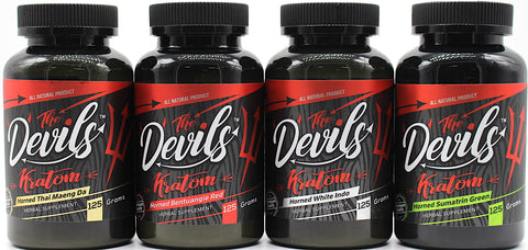 The Devils Kratom 125 grams****