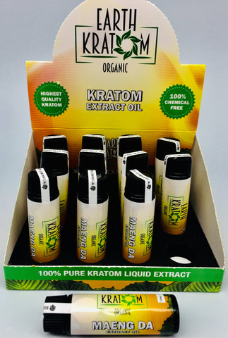Earth Kratom Extract Oil 12ct Display