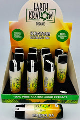Earth Kratom Extract Oil 12ct Display****