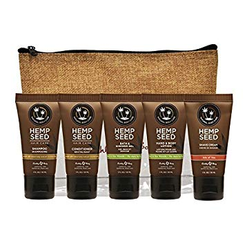 Earthly Body Hemp Seed Hand & Body Lotion 1oz Assorted Scent 12 Pack