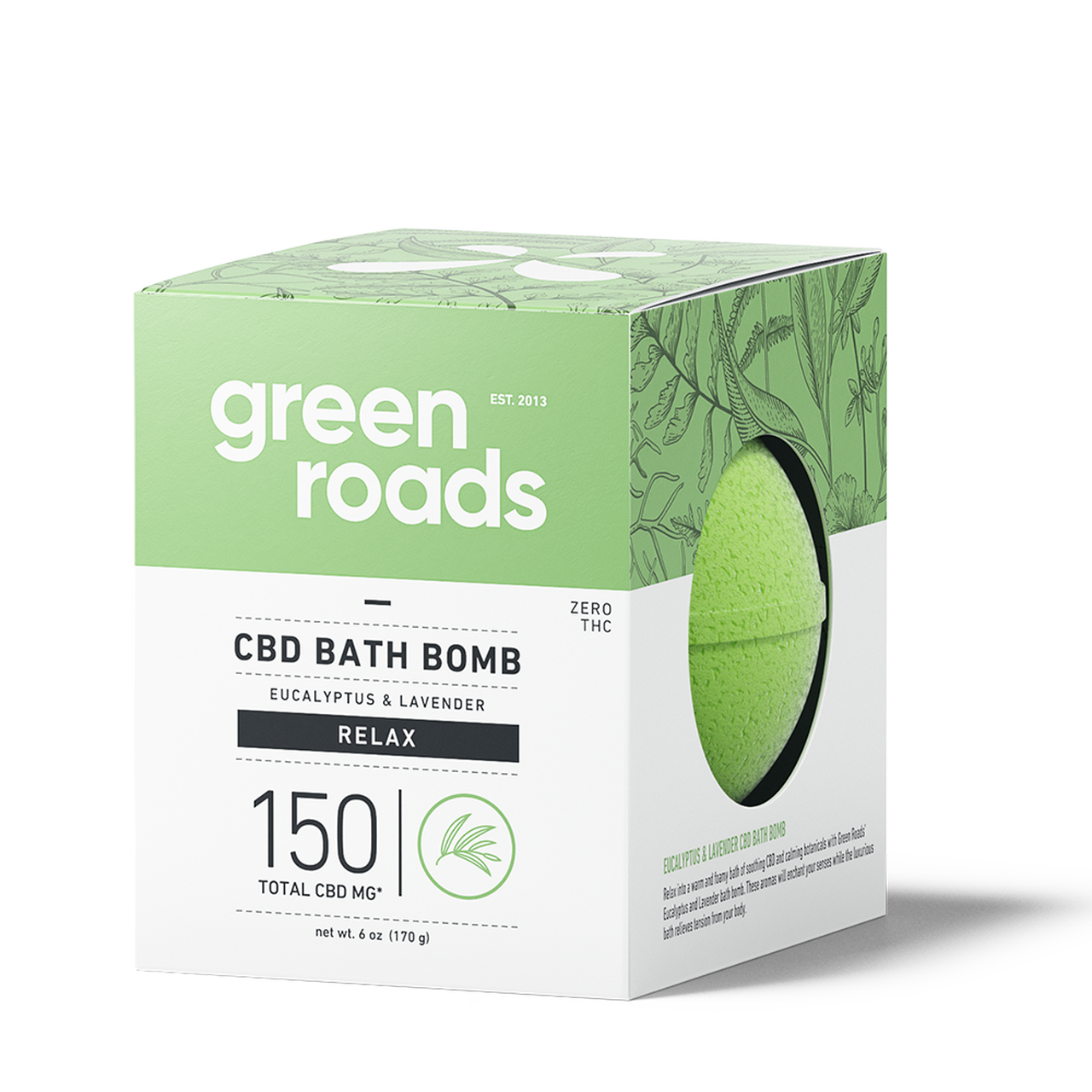 Green Roads CBD Bath Bombs 150mg