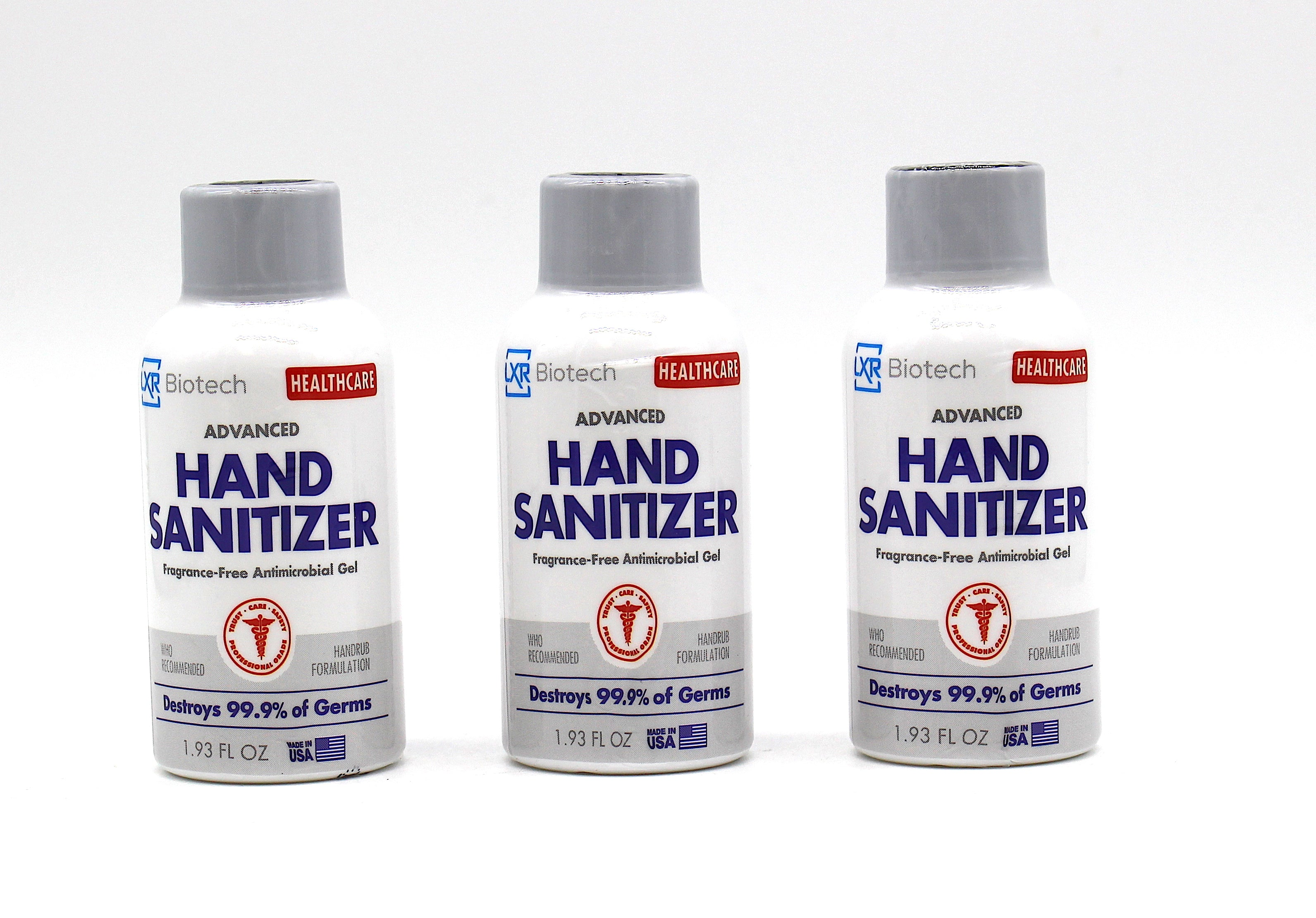 LXR Biotech Hand Sanitizer 1.93 FL OZ ( Display of 24 Bottles)