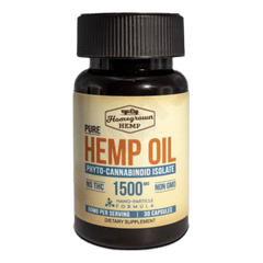 Homegrown Hemp Oil
