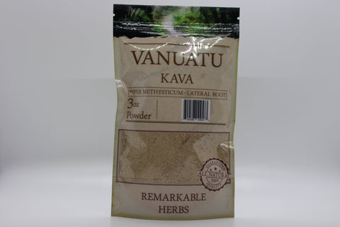 Kava Lateral Root Powder 3 oz