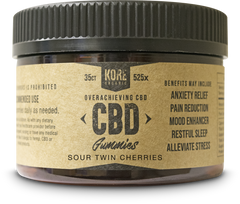Kore Organic CBD Gummies 35ct 525mg****